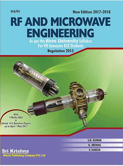 PDF] EC6701 RF and Microwave Engineering Lecture Notes, Books