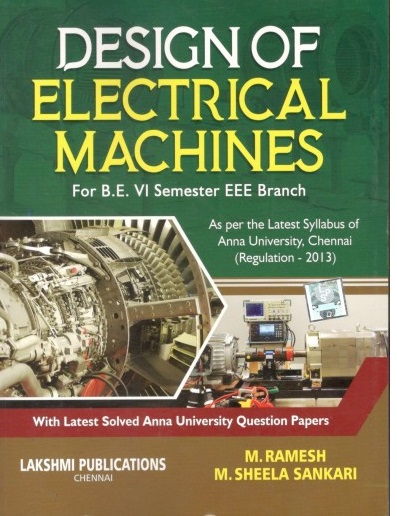 PDF] EE6604 Design of Electrical Machines Lecture Notes, Books