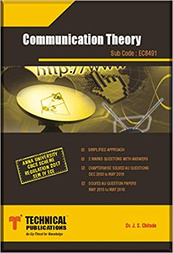 PDF] EC8491 Communication Theory Lecture Notes, Books